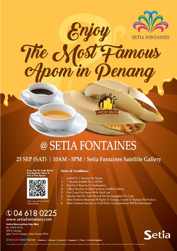 S P Setia Fontaines Campaign
