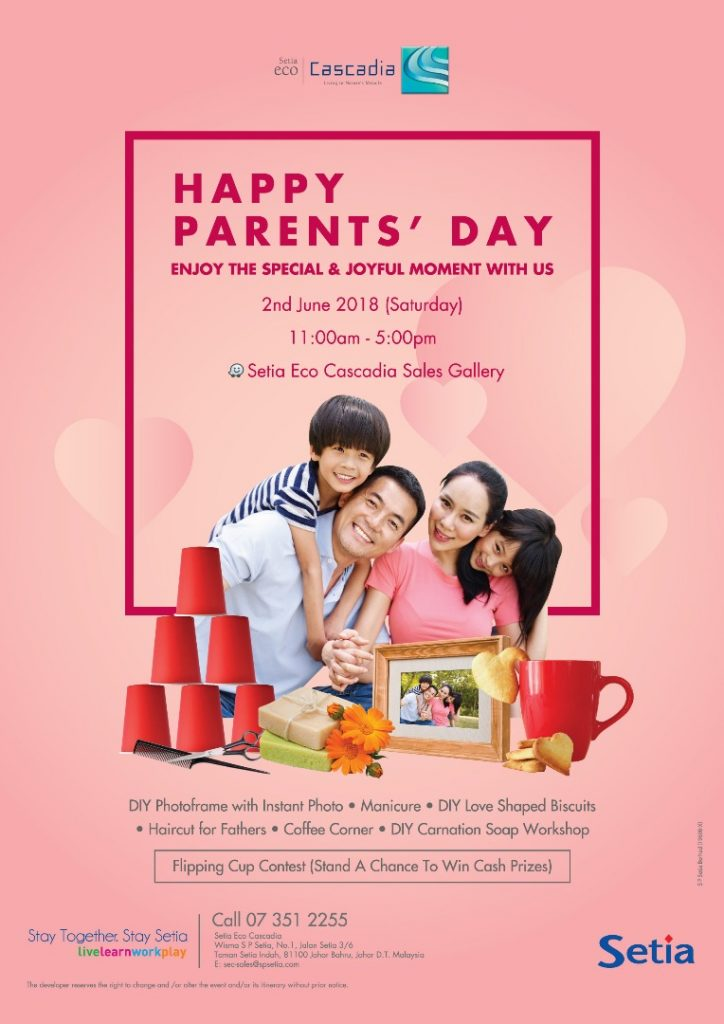 S P Setia Happy parents's day