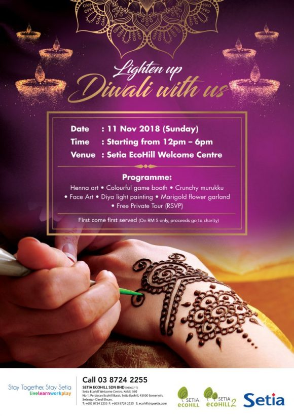 Setia Eco Hill Deepavali Event