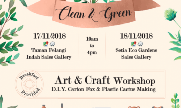 Setia Eco Gardens Recycle Event